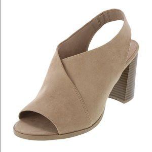 Dexflex Comfort Tilda Suede Block Heel Sandals
